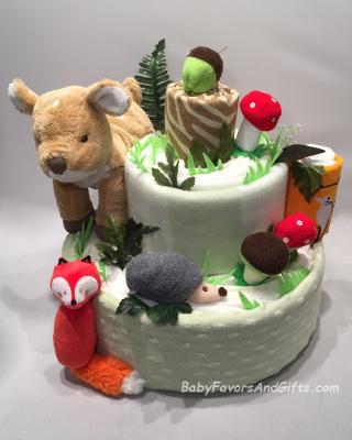 Unique Diaper Cakes, Baby Shower Gift Ideas | BabyFavorsAndGifts.com